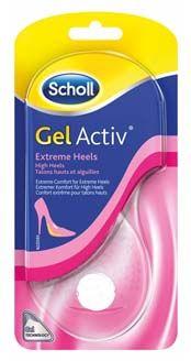 Scholl GelActiv vložky do bot s extra vysokým podpatkem