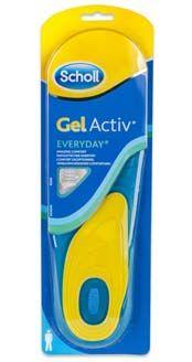 Scholl gelové vložky do bot Everyday - muži
