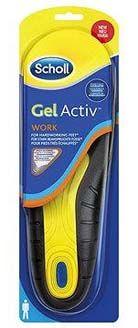 Scholl gelové vložky do bot Work - muži