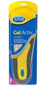 Scholl gelové vložky do bot Work - ženy