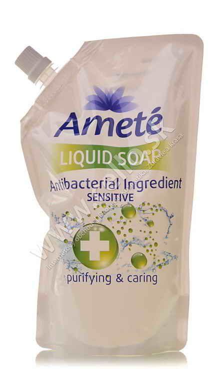 Ameté tekuté mýdlo antibakteriální Sesitive náhradní náplň 500ml