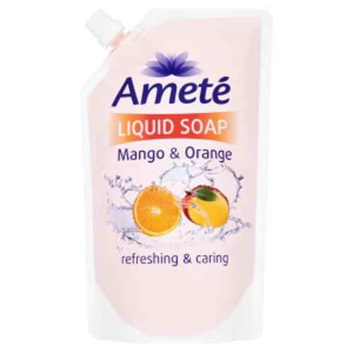 Ameté tekuté mýdlo Mango orange náhradní náplň 500ml
