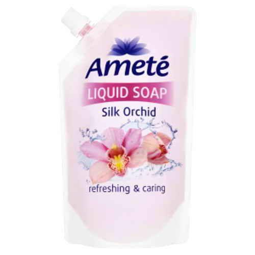 Ameté tekuté mýdlo Silk Orchid náhradní náplň 500ml