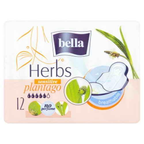 Bella vložky Herbs Sensitive Plantago 12ks