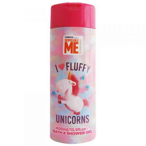 Fluffy sprchový a koupelový gel 400ml