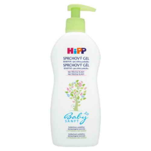 HiPP sprchový gel Dětský Babysanft 400ml