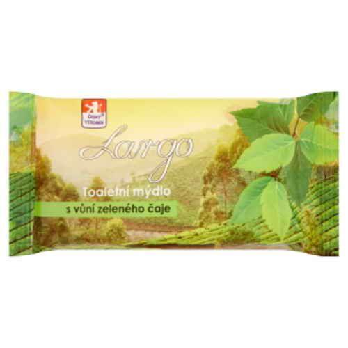 Largo toaletní mýdlo Zelený čaj 100g