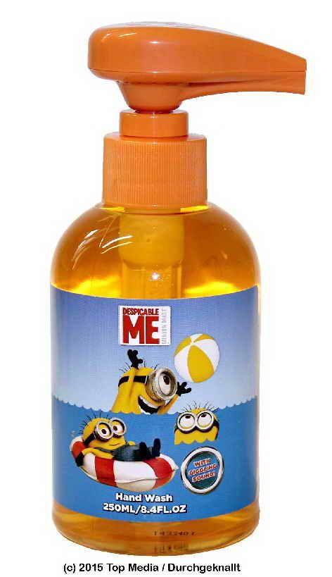 Mimon dětské tekuté mýdlo se zvuky Mimoňů 250ml