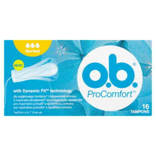 o.b. tampony new Pro Comfort normal Blossom16ks