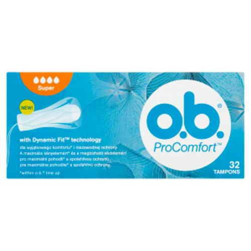 o.b. tampony new Pro Comfort super Blossom32ks