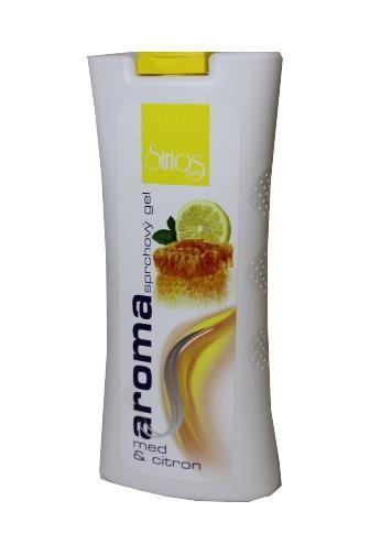 Sirios herb sprchvý gel med a citron500ml (W)