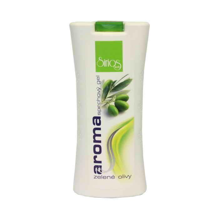 Sirios herb sprchvý gel zelené olivy500ml (W)