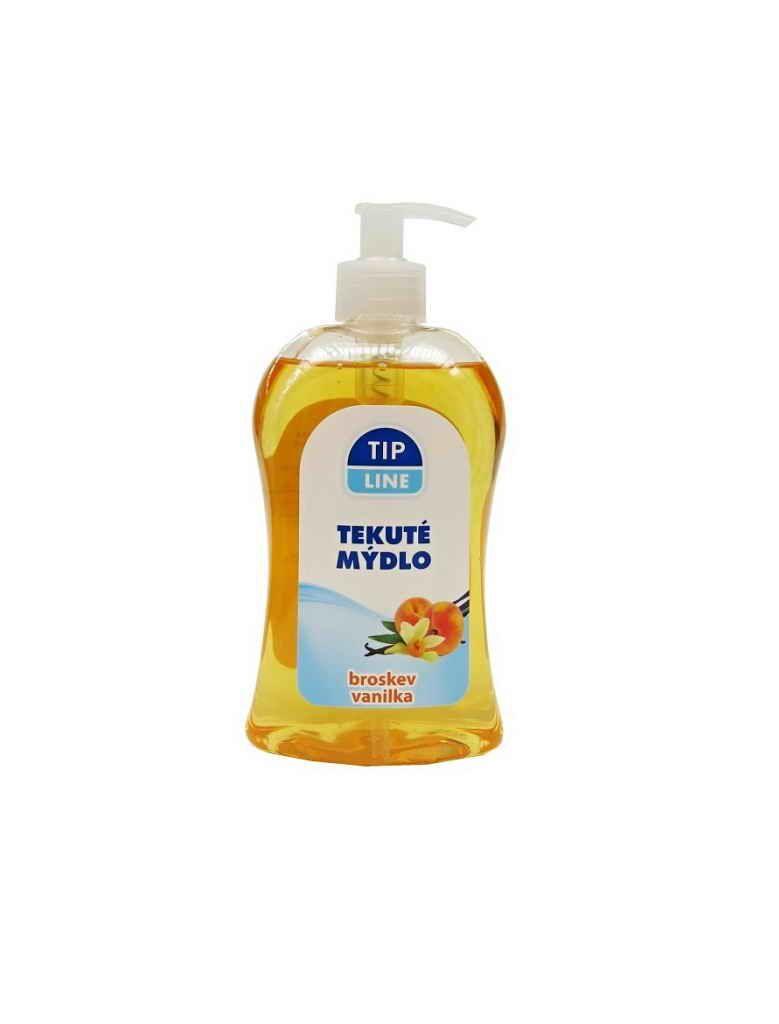 Tip Line tekuté mýdlo pumpa Broskev 500ml