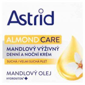 Astrid Almond Care denní a noční krém mandlový 50ml