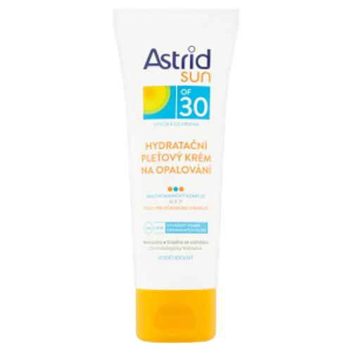 Astrid Sun pleťový krém na opalování OF30 hydratační 75ml