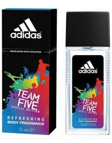 Adidas Team Five deodorant ve skle spray 75ml (M)