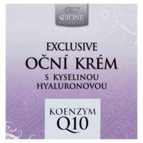 Bione očný krém Cosmetics Exclusive Q10 s kyselinou hyalurónovou 51ml
