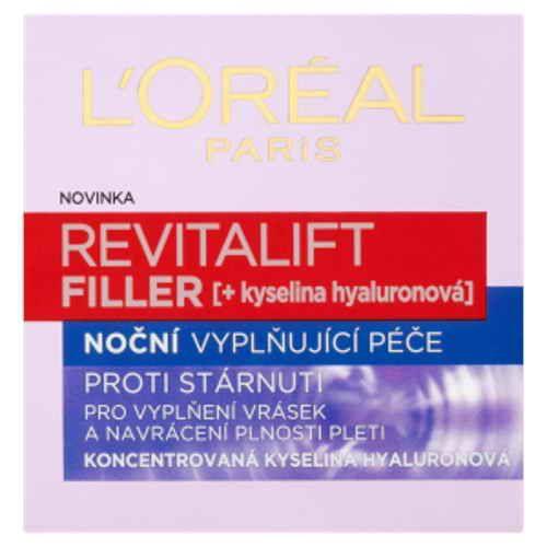 Loréal Paris Revitalift Filler noční krém proti vráskám 50ml