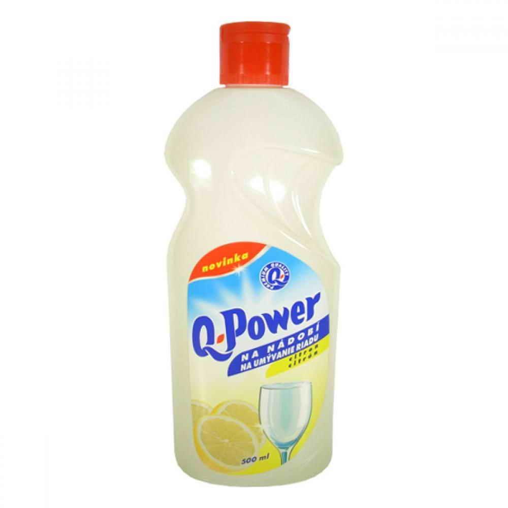 Q Power na nádobí citron500ml