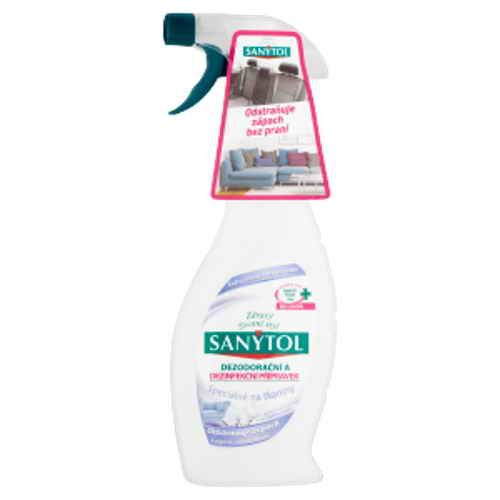 Sanytol dezinfekční a dezodorační přípravek na tkaniny (mech. rozpr.) 500ml