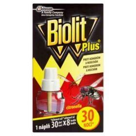 Biolit Plus náplň do elektrického odpařovače s vůní citronelly 31ml