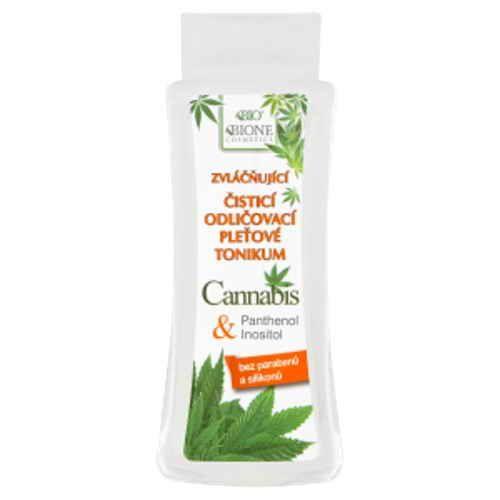 Bione Cosmetics Cannabis čistící odličovací pleťové tonikum 255ml