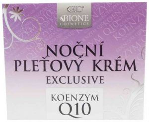 Bione Cosmetics Exclusive Q10 noční pleťový krém 51ml