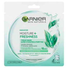Garnier Skin Naturals Moisture + Freshness superhydratační čistící textilní maska 32g