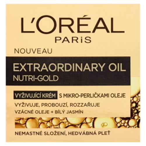Loréal Paris Nutri-Gold vyživující krém s mikro-perličkami oleje 50ml