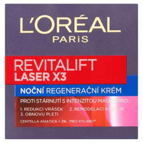 Loréal Paris Revitalift Laser X3 noční regenerační krém proti vráskám 50ml