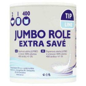 Tip Line kuchyňské utěrky 2-vrstvé Jumbo