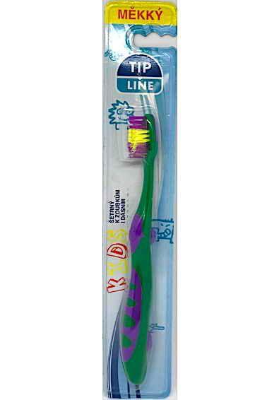 Tip Line zubní kartáček kids soft