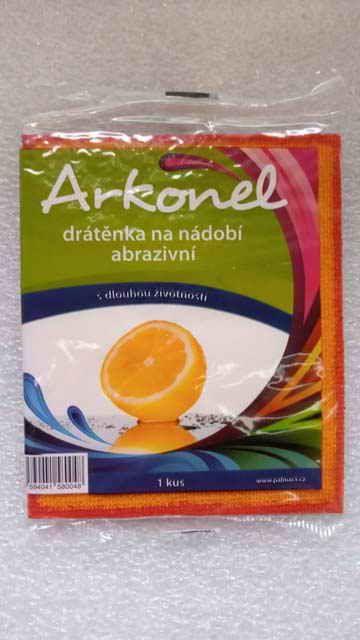 Arkonel Drátěnka na nádobí abrazivní 1ks