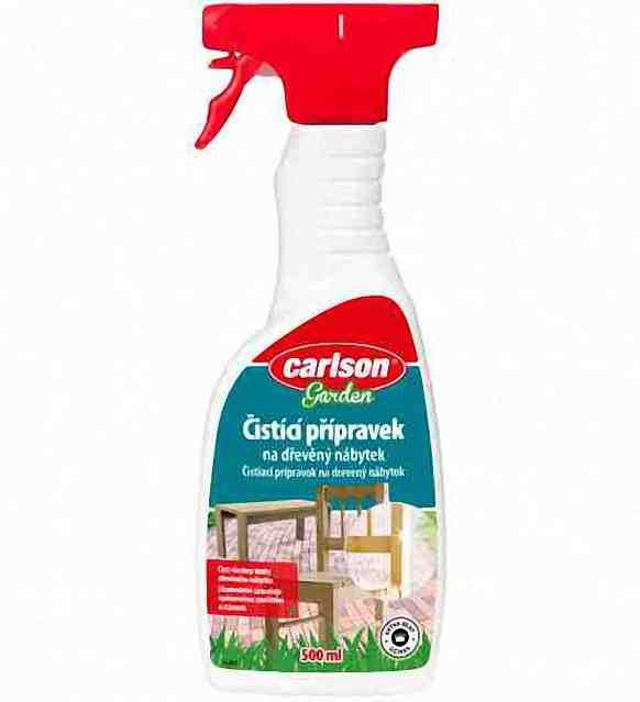 Carlson čistící a ochranný přípravek na dřevěný zahradní nábytek spray 500ml