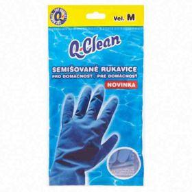Q Clean semišované rukavice M