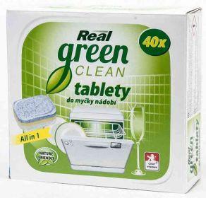 Real tablety do myčky Green Clean 40ks