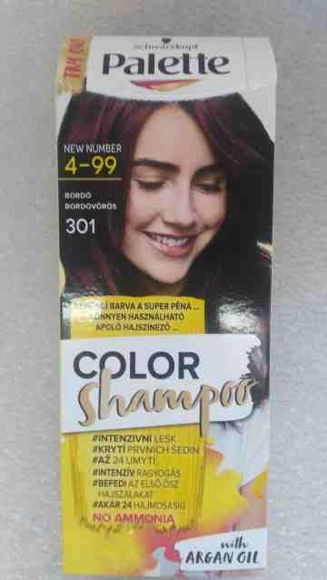 Schwarzkopf Palette color shampoo 301 bordo