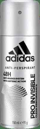 Adidas deo antiperspirant spray Pro Invisible 150ml (M)