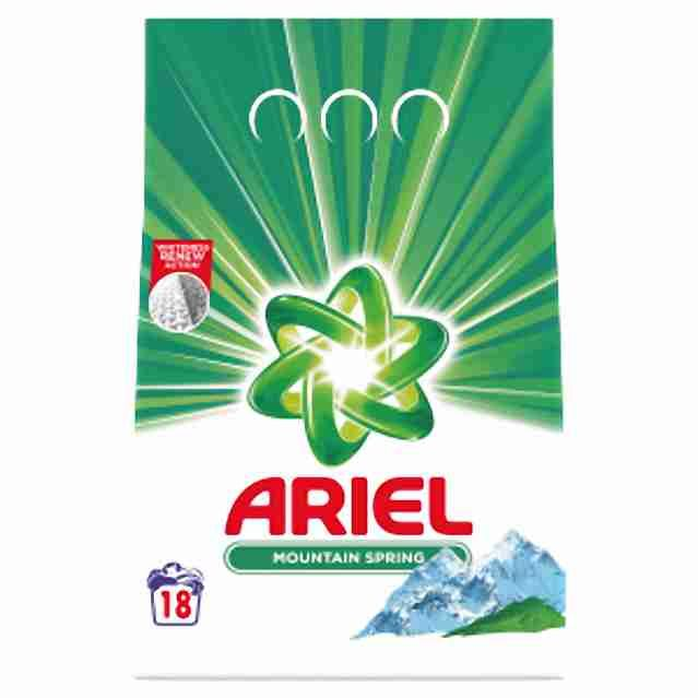 Ariel prášek na praní Mountain Spring 18PD