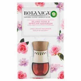 Botanica by AirWick elektrický osvěžovač vzduchu + náplň exotická růže a africká pelargónie 19ml