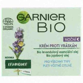 Garnier BIO noční krém proti vráskám Lavandin 50ml