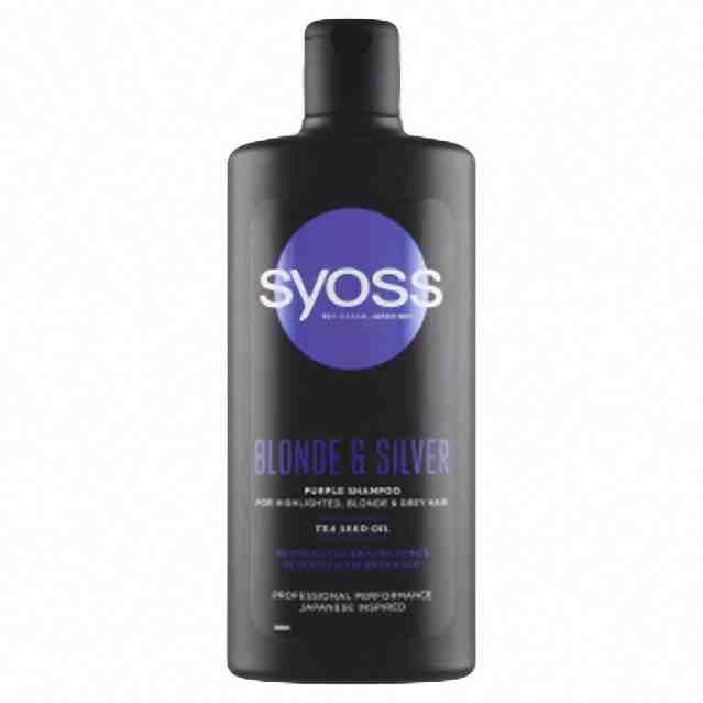 Syoss šampon Blonde and Silver 440ml
