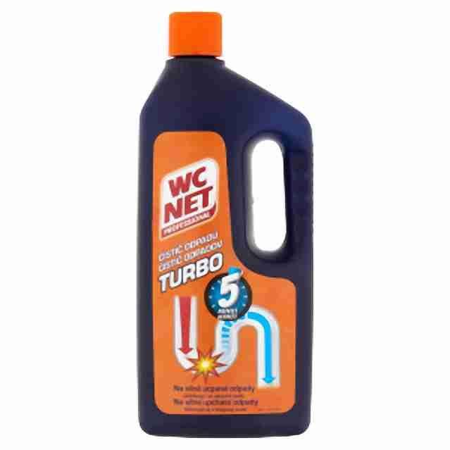 Wc Net Turbo gelový čistič odpadů zprůchodní i beznadějně ucpané odpady 1000ml