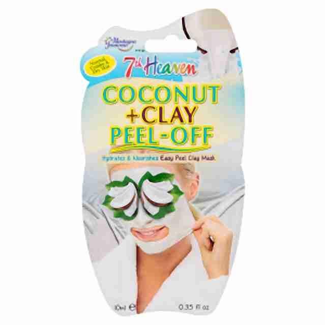 7Heaven Montagne Jeunesse kokosová slupovací maska s jílem 10ml