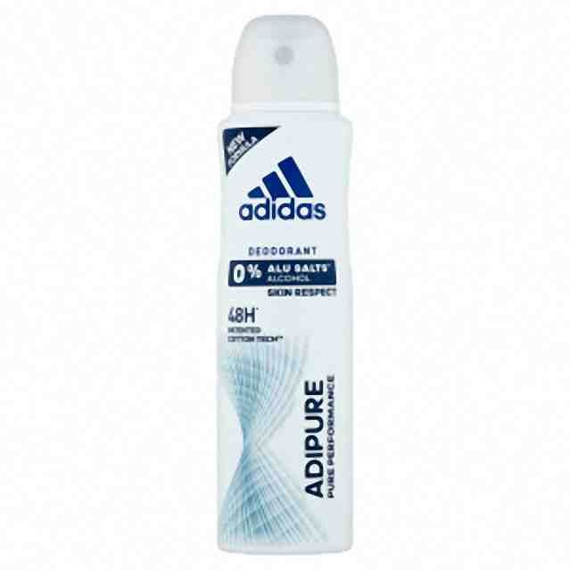 Adidas deo antiperspirant spray Adipure 150ml (W)