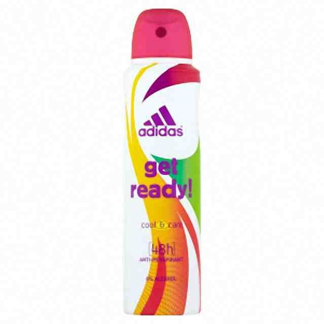 Adidas deo antiperspirant spray Get Ready 150ml (W)