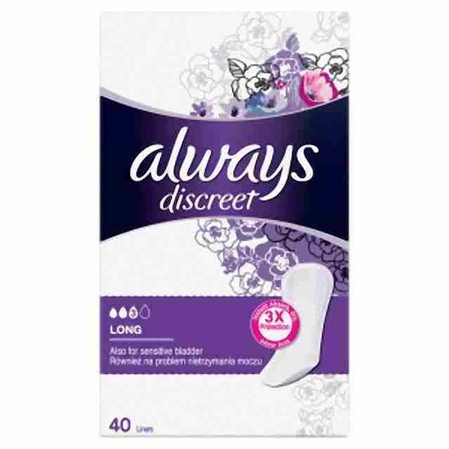 Always intim inkontinence normal40ks