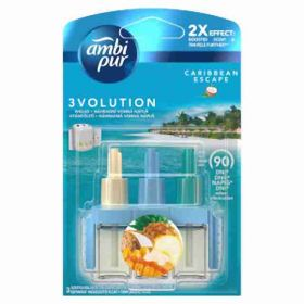 AmbiPur 3volution osvěžovač vzduchu náplň Caribbean 20ml