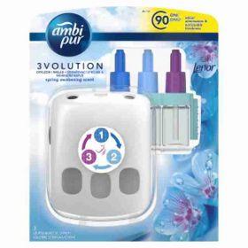 AmbiPur 3volution osvěžovač vzduchu strojek + náplň Lenor 20ml