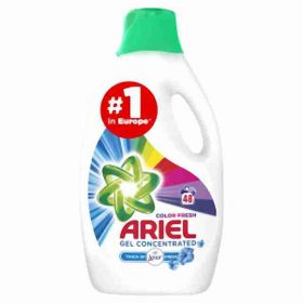 Ariel gel Touch of Lenor Color48PD